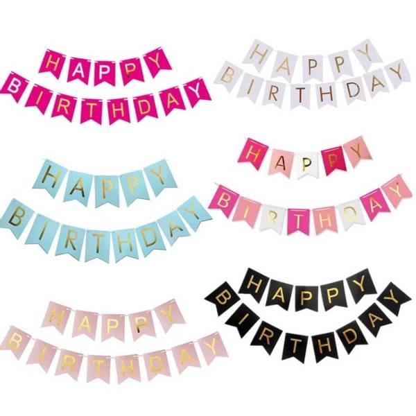 Bilde av Happy Birthday, banner!
