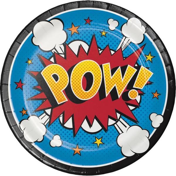 Bilde av DC Comic Pow, Asjetter 8 stk