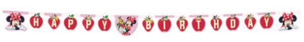 Bilde av Minnie Happy Birthday Banner