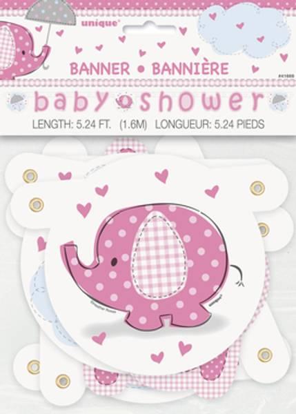 Bilde av Umbrellaphants Pink, Banner
