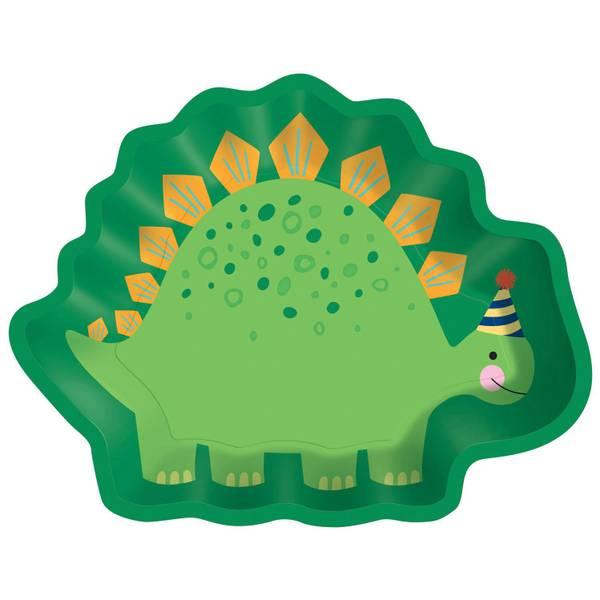 Bilde av Dino-Mite, Dinosaur Tallerkner,  8 stk