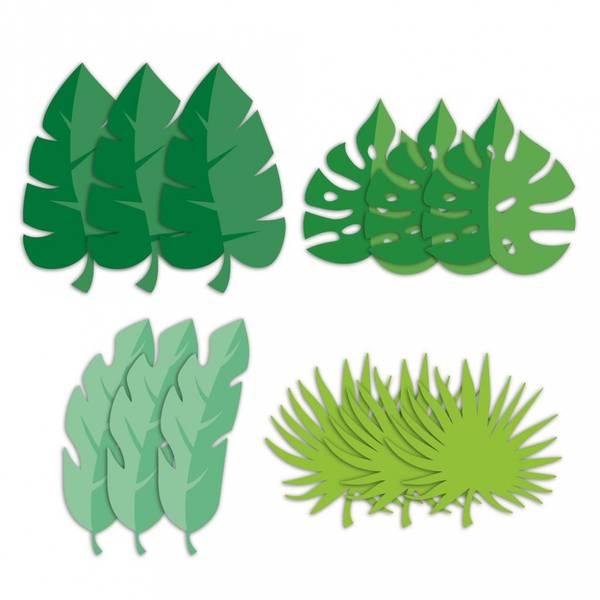 Bilde av Palmeblader i papir