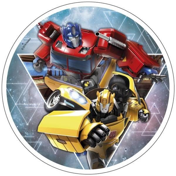 Bilde av Transformers, Kakebilde 1, Sukkerpapir, 20 cm