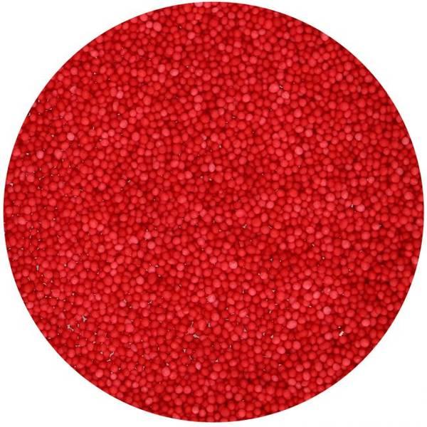 Bilde av Røde kakestrøssel, miniperler