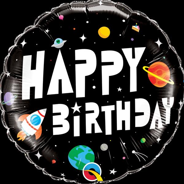 Bilde av Verdensrommet Folieballong, 46 cm