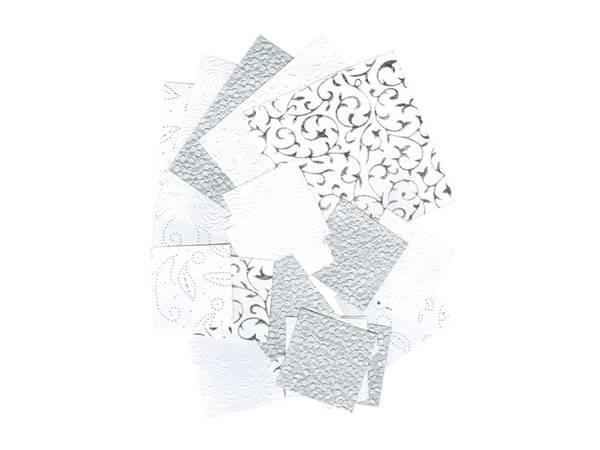 Bilde av Klippepakke, Sølv/Hvit