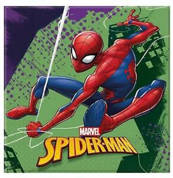 Bilde av Spiderman Team Up Servietter, 20 stk