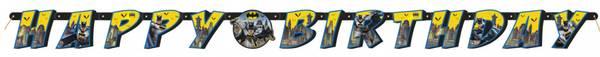 Bilde av Batman Happy Birthday Banner