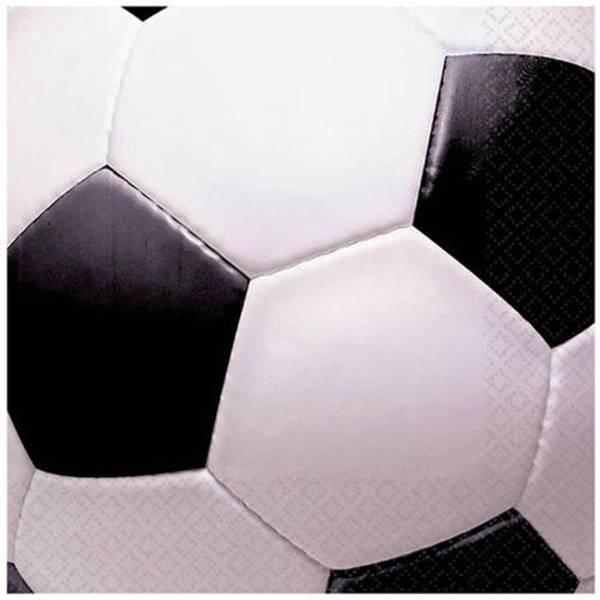 Bilde av Fotball, Cafe Servietter, 16 stk