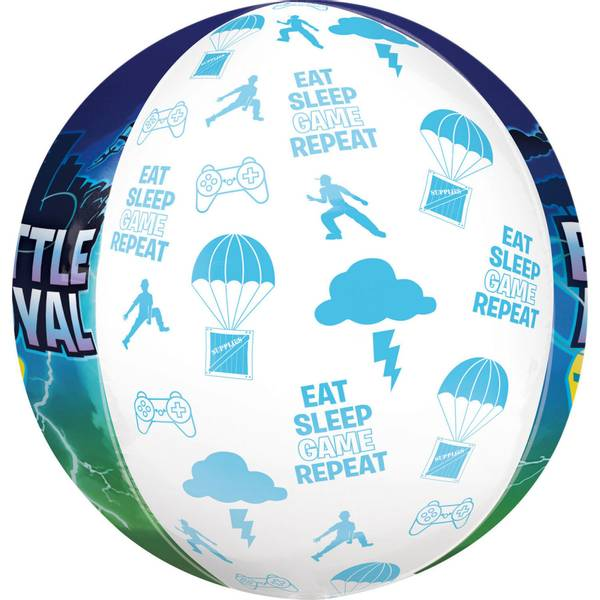 Bilde av Battle Royal 3D Sirkel Folieballong, 38cmx40cm