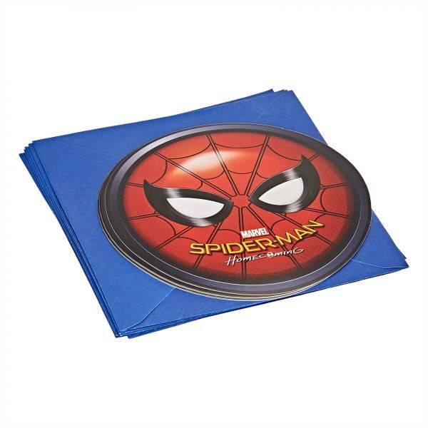 Bilde av Spiderman Invitasjoner, 3