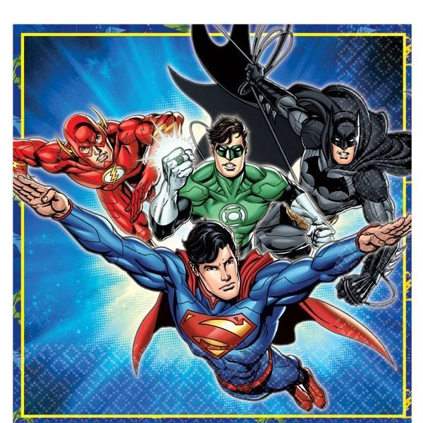 Bilde av Justice League, Servietter, 16 stk