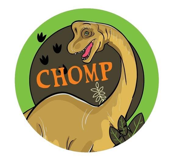 Bilde av Dinosaur Kakebilde, 10, Sukkerpapir, 20 cm