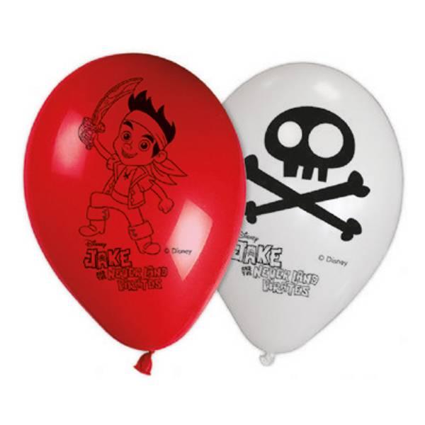 Bilde av Jake og Sjørøverne Ballonger, 8 stk