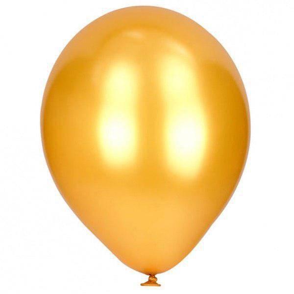 Bilde av Champagne Gull ballong 8 stk