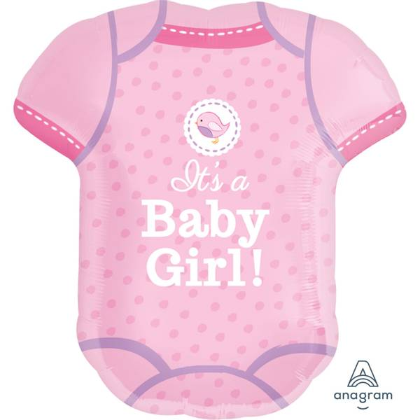 Bilde av Its a Baby Girl, Body Folieballong
