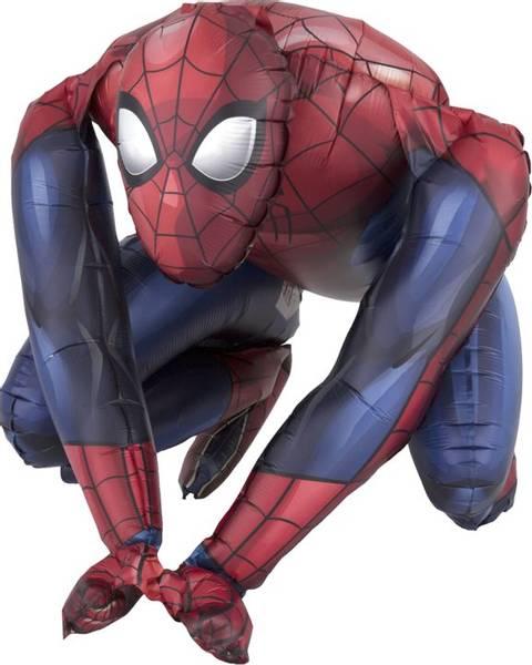 Bilde av Sittende, Spiderman Ballong