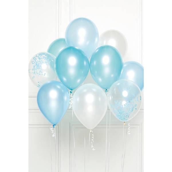 Bilde av Blå DIY Ballong Bukett
