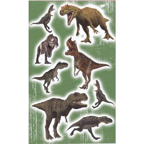 Bilde av Dinosaur klsitremerker 3 ark