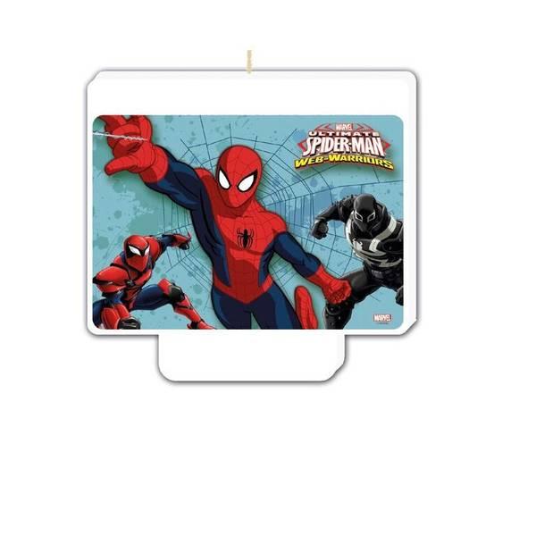 Bilde av Spiderman Webwarriors Kakelys