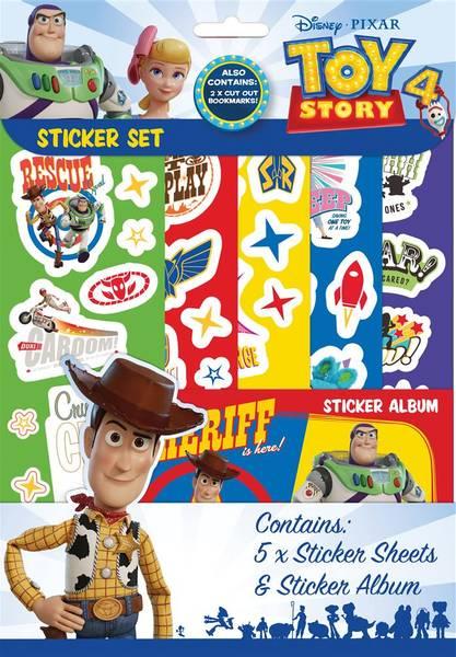 Bilde av Toy Story 4 Klistremerkesett