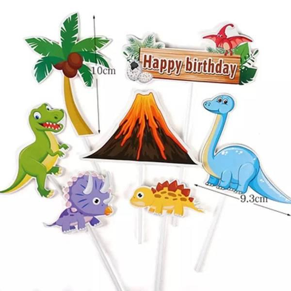 Bilde av Dinosaur og Vulkan Kaketopper