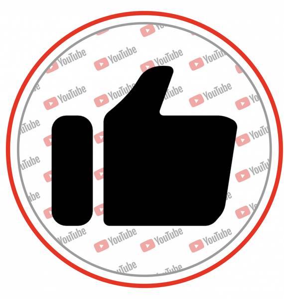 Bilde av YouTube, Kakebilde1, 20 cm
