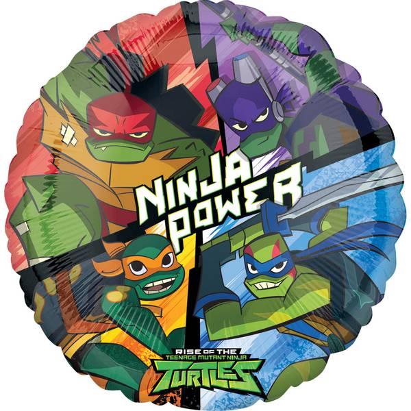 Bilde av Rise of the Ninja Turtles, Folieballong