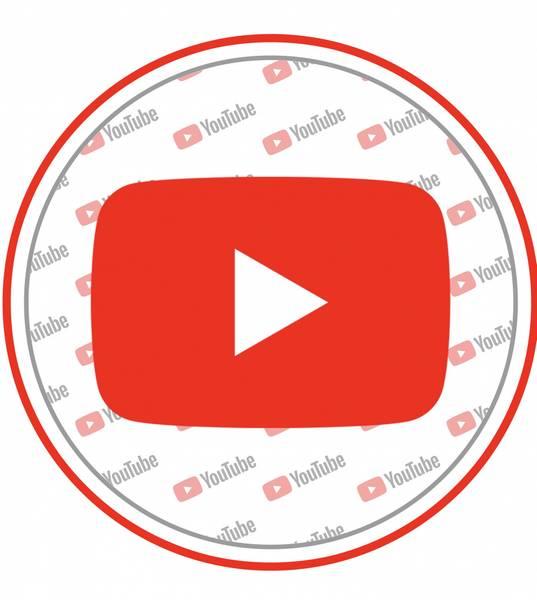 Bilde av YouTube, Kakebilde2, 20 cm