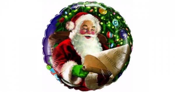 Bilde av Julenissen, Folieballong
