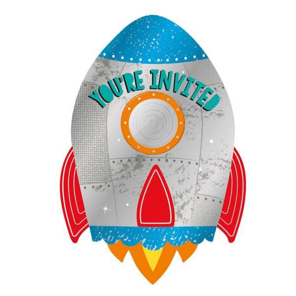 Bilde av Rakett Invitasjoner, 8 stk