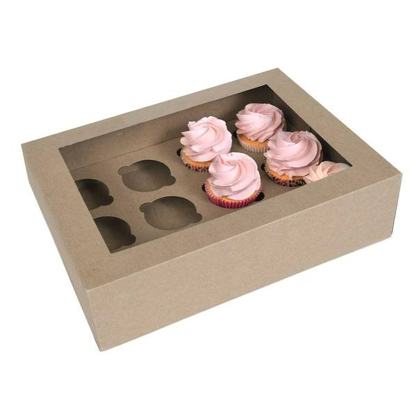 Bilde av 12 Cupcake Kakeeske, 2 stk