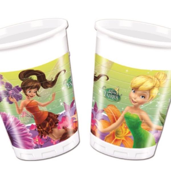 Bilde av Disney Fairies Plastkopper, 200ml (8 stk)