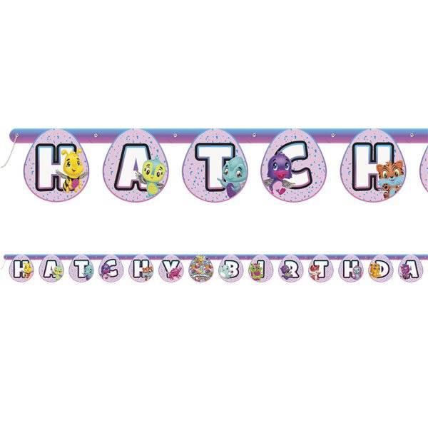 Bilde av Hatchimals, Hatcy Birthday, banner