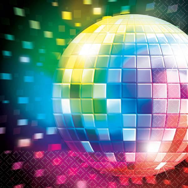 Bilde av Disco Servietter, 16 stk