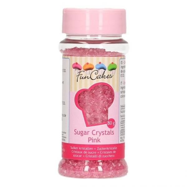 Bilde av Rosa Sukkerkrystall Strøssel