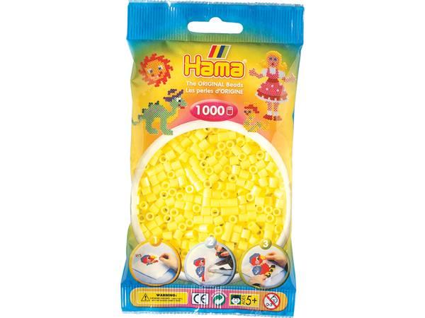 Bilde av Hama Midi super 1000s – 43 Pastell gul