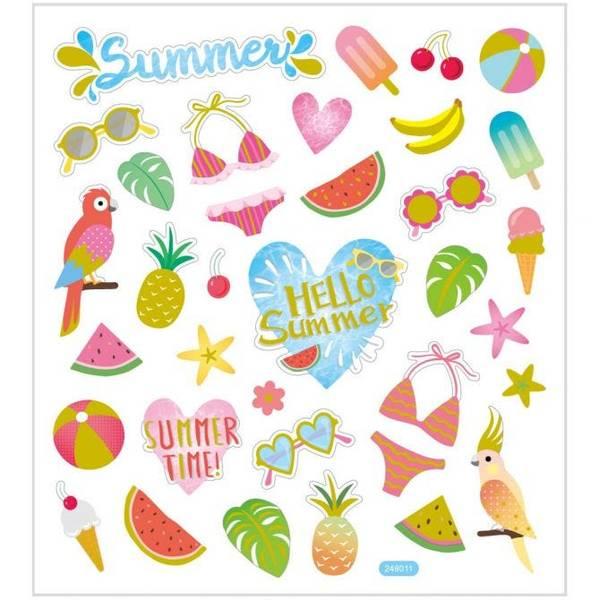Bilde av Klistremerker - Hello Summer
