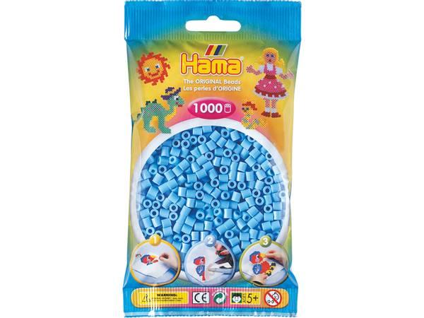 Bilde av Hama Midi super 1000s – 46 Pastell blå