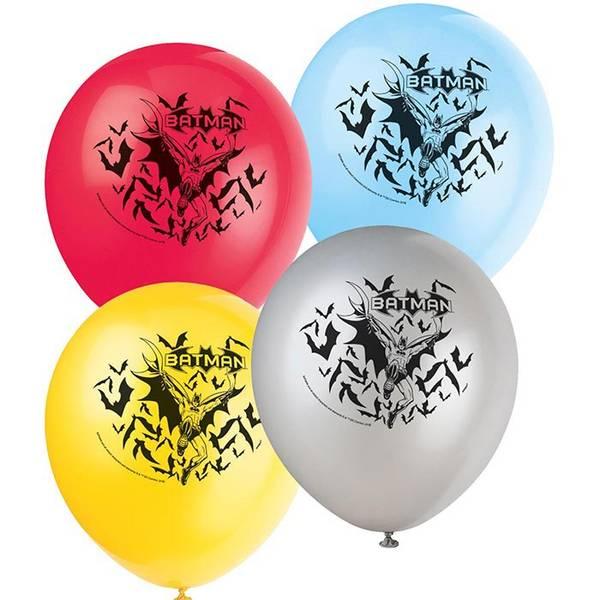 Bilde av Batman ballonger, 8stk