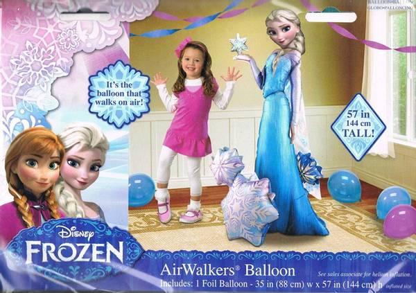 Bilde av Frost 2 Elsa Gigantisk AirWalker folieballong, Hele 88*144cm!