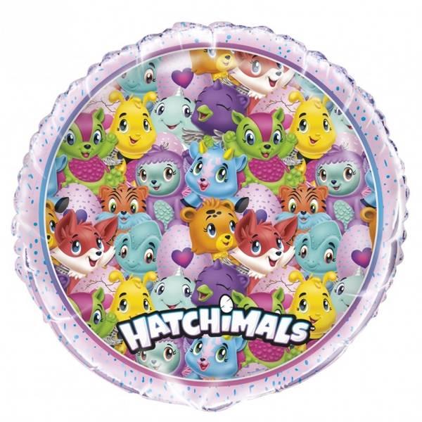 Bilde av Hatchimals, Folieballong rund