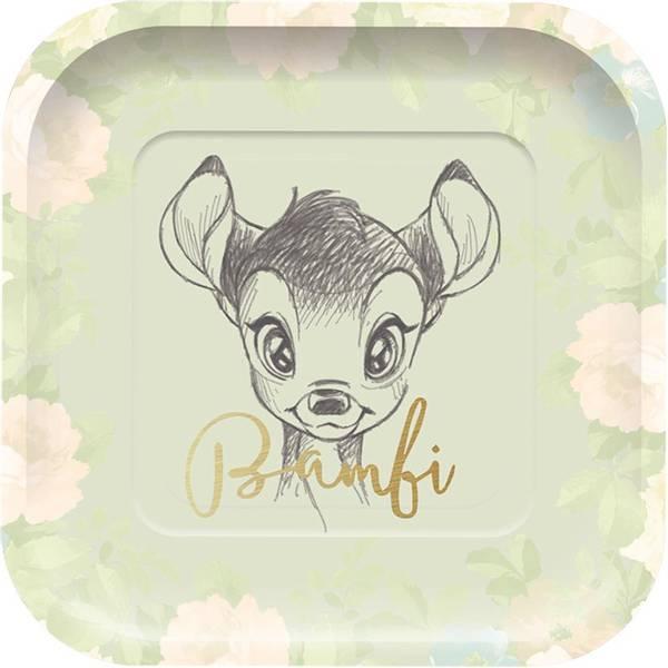 Bilde av Bambi Tallerken, 4 stk