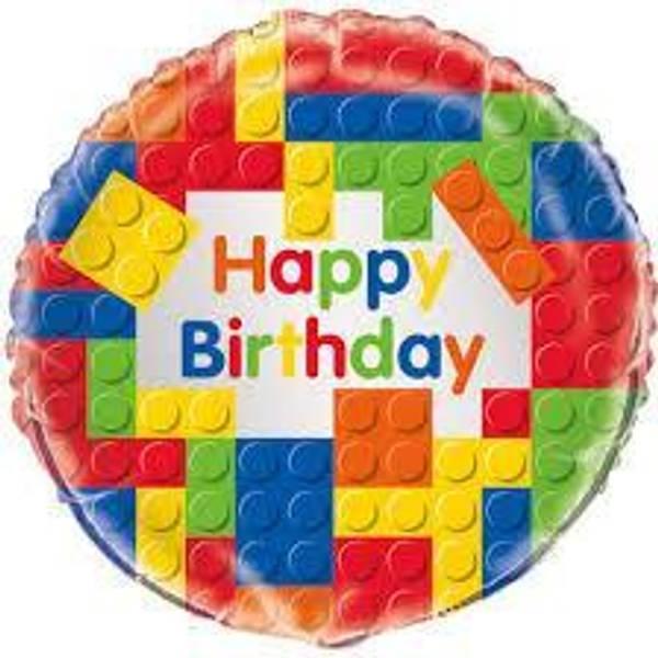 Bilde av Legoklosser Folie Ballong
