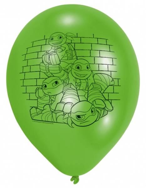 Bilde av Teenage Mutant Ninja Turtles Ballonger, 6stk