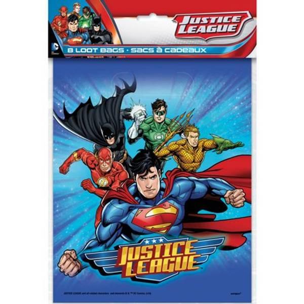 Bilde av Justice League Godteposer, 8stk