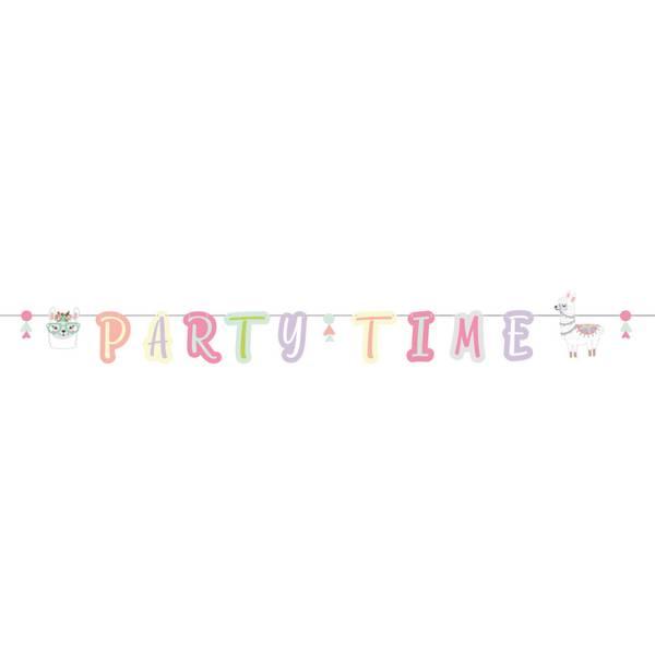 Bilde av Lama, Partytime Banner