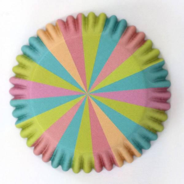 Bilde av Pastelfargede, Muffinsformer, 30 stk