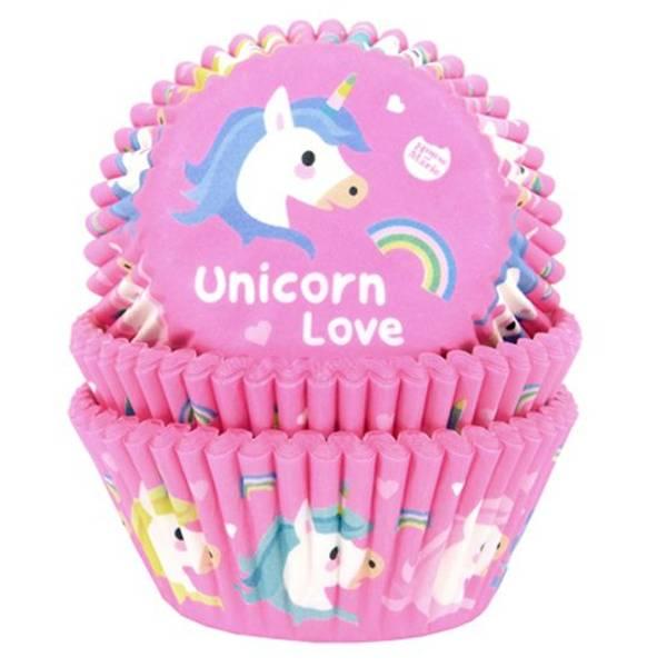Bilde av Unicorn, Muffinsformer, 50 stk