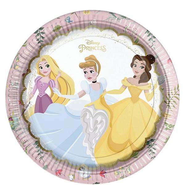 Bilde av Disney Prinsesse, Tallerker, 8 stk
